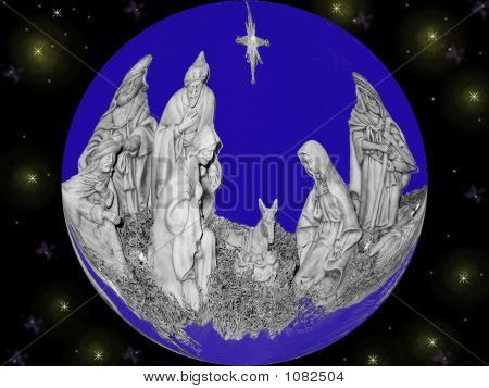 Nativity Globe