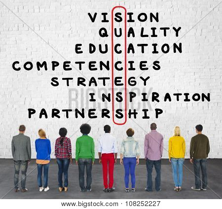 Success Goal Target Victory Strategy Vision Concept