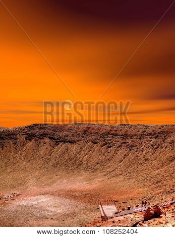 Sunrise Meteor Crater