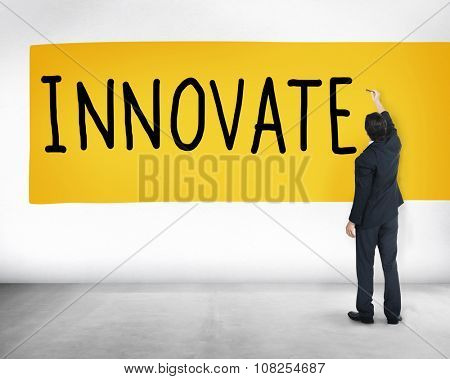 Innovate Innovation Ideas Inspiration Invention Concept
