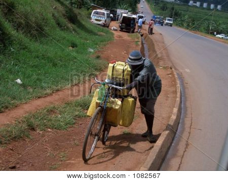 Bicicleta en África
