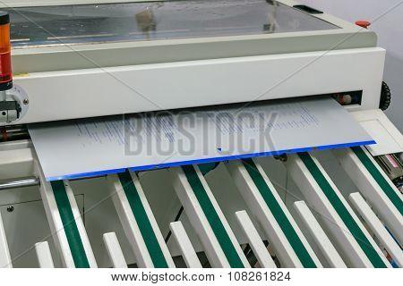 Blueprint Printing Machine