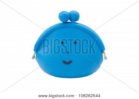 Smile Bag Isolated On Wite Background