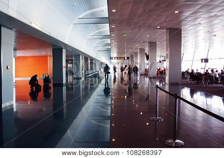 International Airport Terminal Business Travel