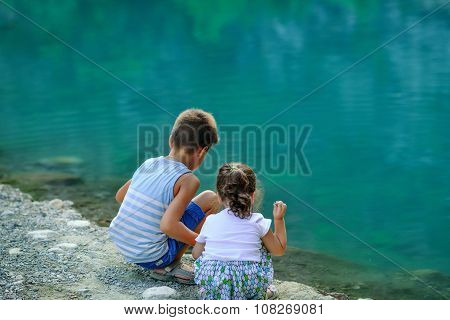 Children By The River
