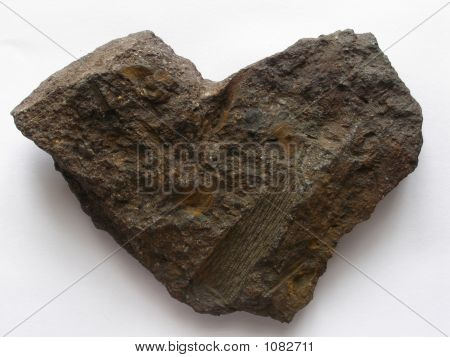 Stone Heart With Prints
