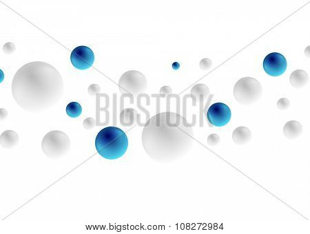 Abstract hi-tech geometric vector circles background