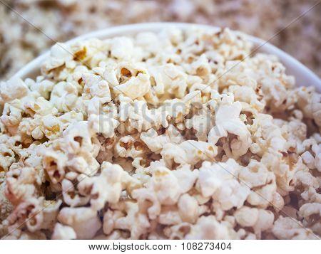 Popcorn Bucket Close Up