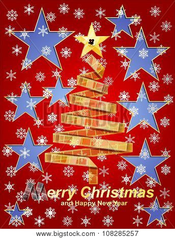 Filmstrip Christmas Tree