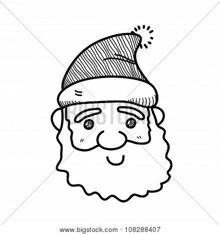 Santa Claus Doodle