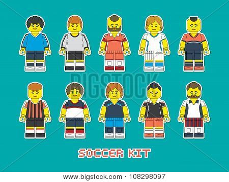 Soccer Kit Constructor Style
