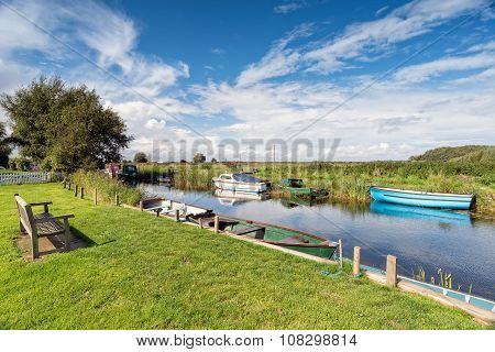 The River Thurne On The Norfolk Broads