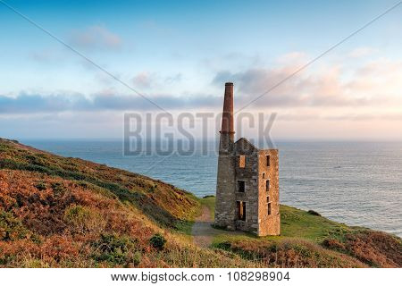 Rinsey Head In Cornwall