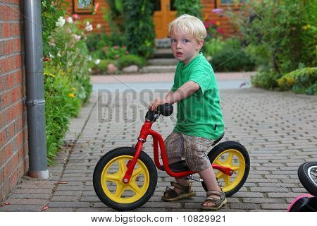 Boy and his Bike