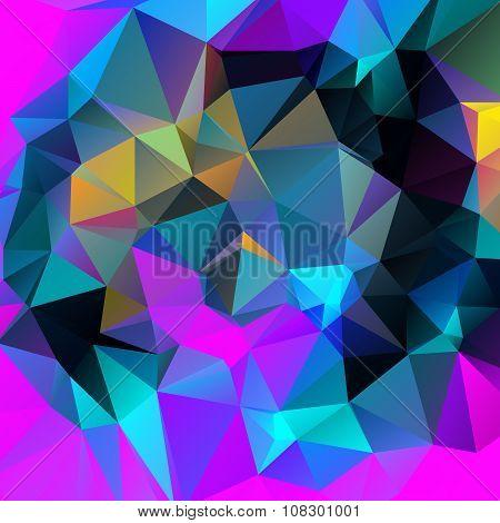 Abstract Triangular Wallpaper