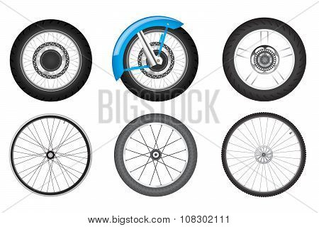 bike wheel set
