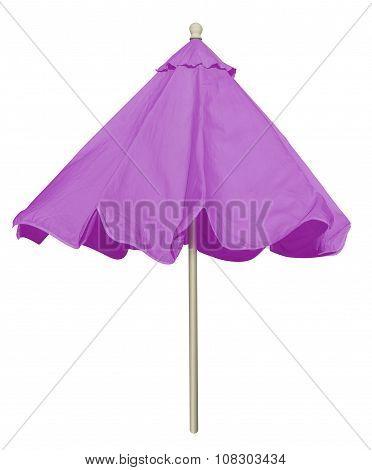 Beach Umbrella - Violet
