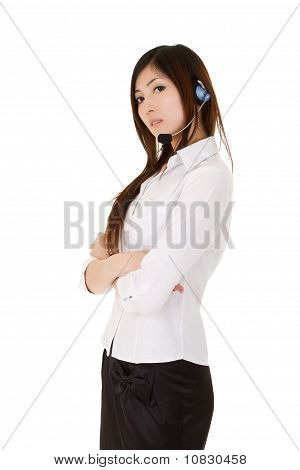Young Assistant Business Lady