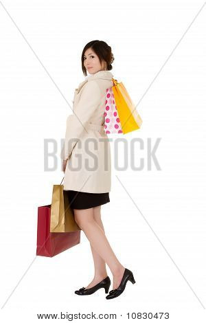 Young Lady Shopping