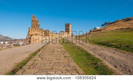 Medieval Genoese fortress