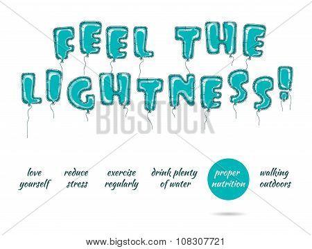 Feel The Lightness