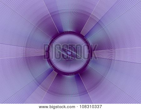 Abstract fractal purple checkered background