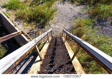 Old Rusty Ladder