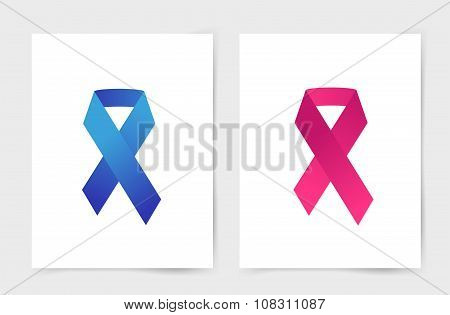 Stop cancer medical poster concept