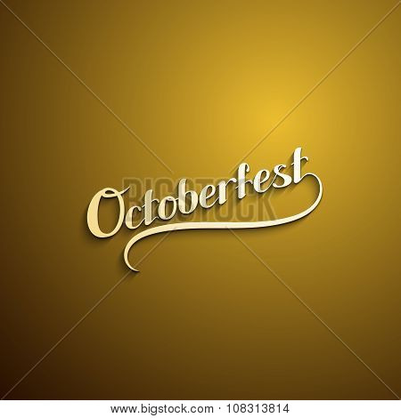 Octoberfest. Holiday Vector Illustration