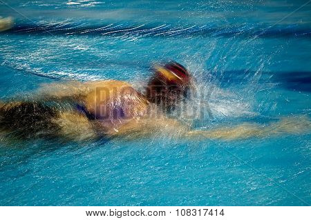Abstract Motion A Swimmer