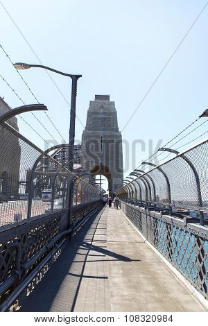 Sydney Harbour Bridge pedestrian walkway