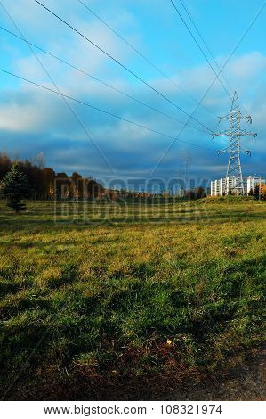 Highvoltage Electricity Cables