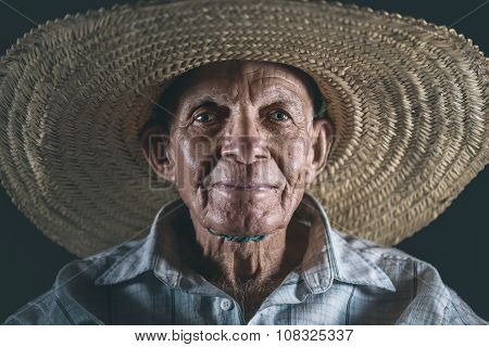 The Man With Straw Hat