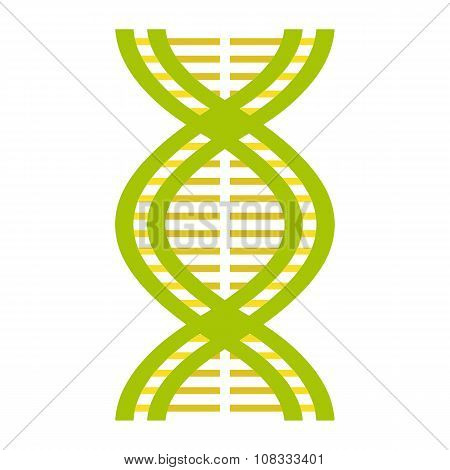 Nice DNA and molecule icon