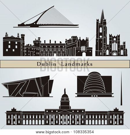 Dublin Landmarks And Monuments