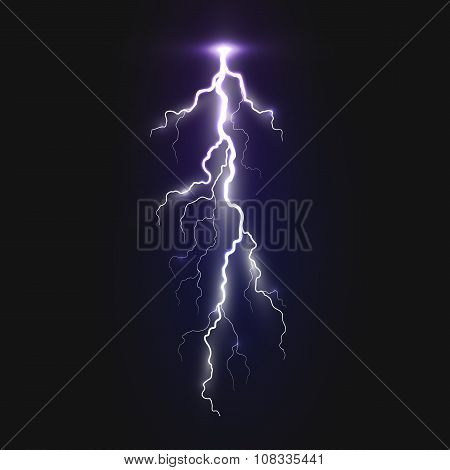 New realistic lightning sign