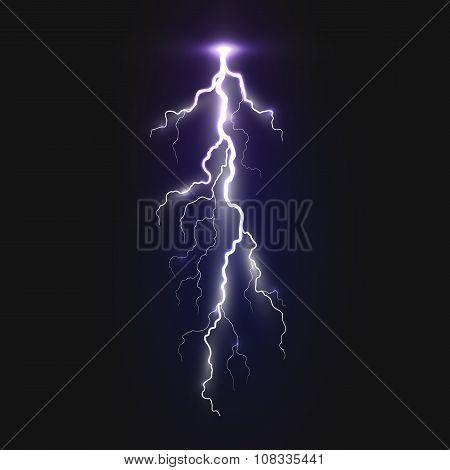 New realistic lightning sign