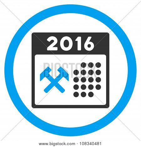 2016 Working Days Icon