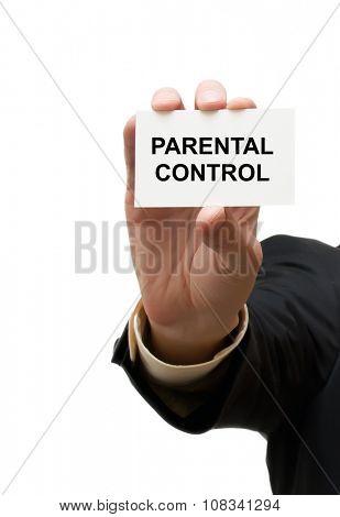Card parental control