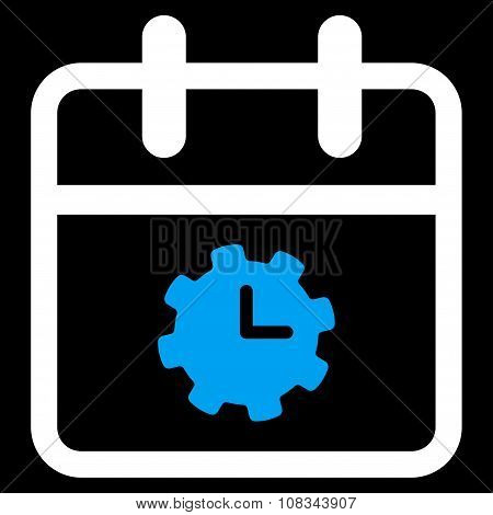 Time Service Day Icon