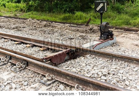 Structure Of Railroad Track