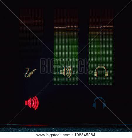 Sound Meters Display