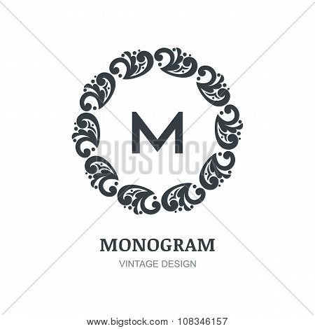 Luxury Vector Logo Design Template.