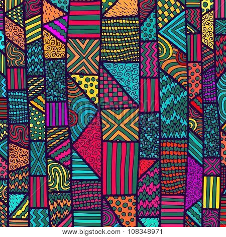 Zentangle Lines Color Background 11