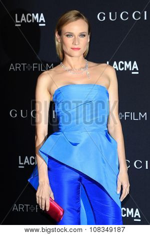 LOS ANGELES - NOV 7:  Diane Kruger at the LACMA Art + Film Gala at the  LACMA on November 7, 2015 in Los Angeles, CA