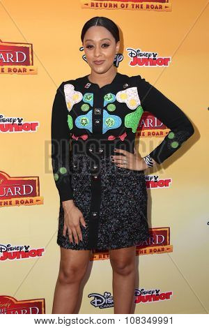 LOS ANGELES - NOV 14:  Tia Mowry-Hardrict at the