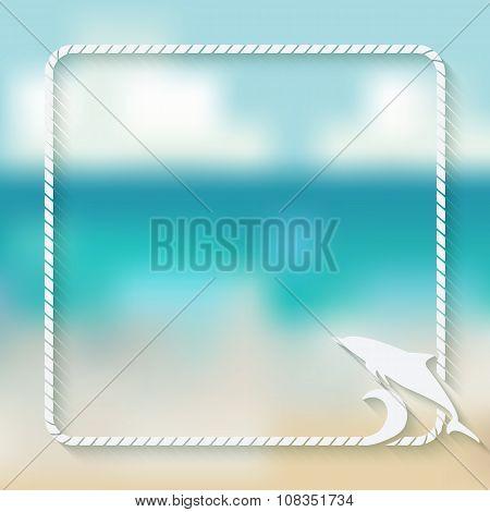 Dolphin Marine Background
