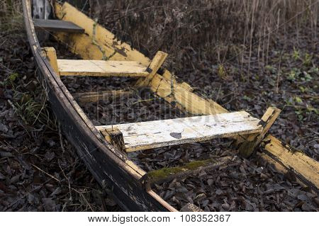 Rowing Boat Wreck