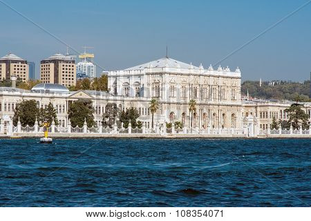 The Dolmabahce Palace in Turkey