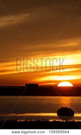 Sunset Rural Saskatchewan